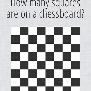 How many squares are on a chessboard? | by mattersofgrey