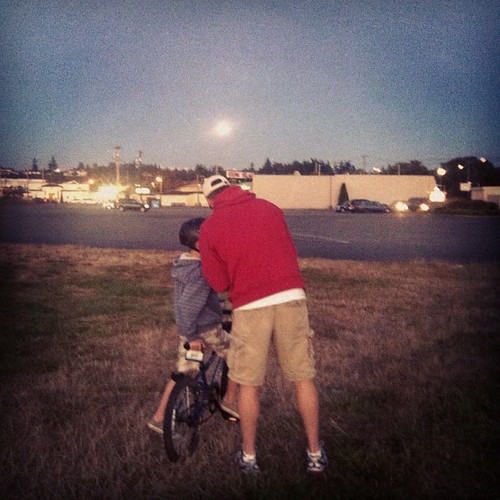 Checking out the blue moon last night... | by jashepler