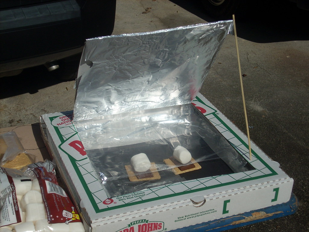 ... Pizza Box Oven for Su0027mores | by Gerry Dincher & Pizza Box Oven for Su0027mores | I made a solar powered oven outu2026 | Flickr Aboutintivar.Com