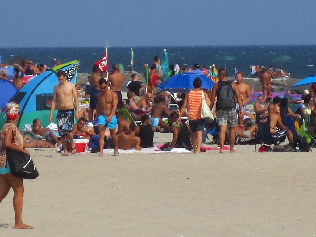 Gay Friendly Beach Area At Jacob Riis Park In Queens, New -1443