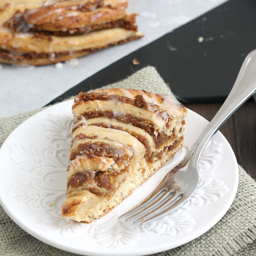 Fig-Swirl Coffeecake | by Tracey's Culinary Adventures