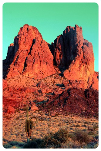 Sunset in the Superstition Mountains | by Rachel219