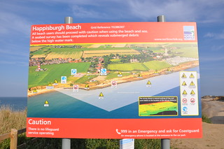 New Happisburgh Beach Sign | by Cameron Self
