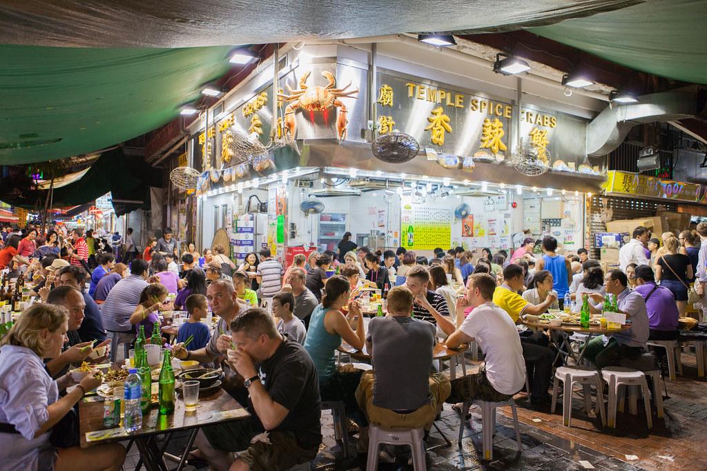 Hong Kong Food Market