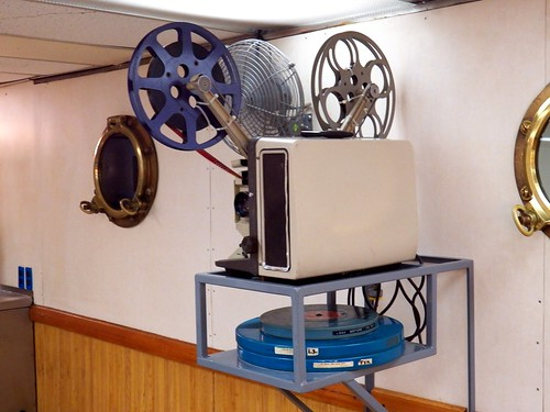 Antique movie projector | by Erin Turowski