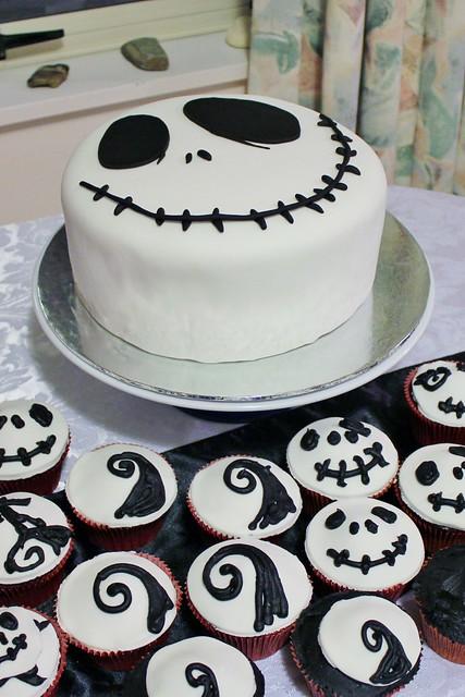 Edward Scissorhands Birthday Cake