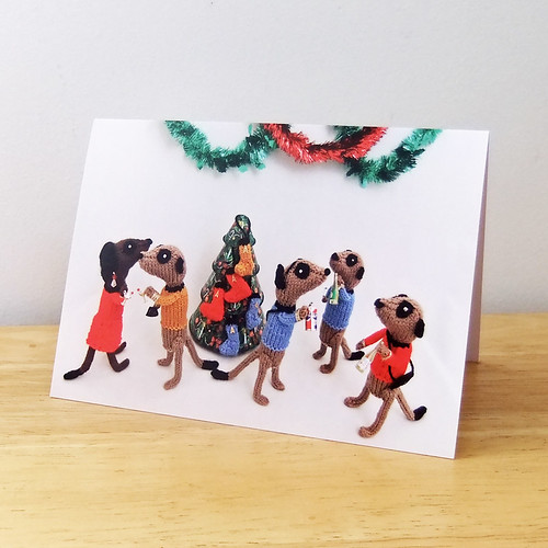 Star Trek Meerkat Christmas Party | by niftyknits