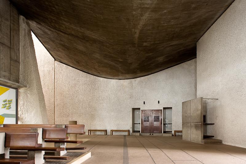 Le Corbusier Notre Dame Du Haut Ronchamp France 1950 5