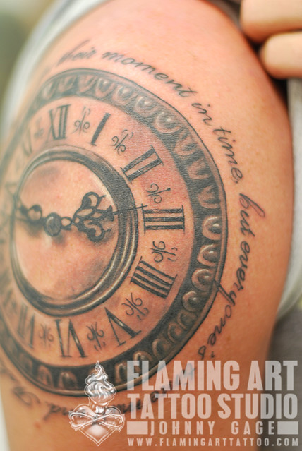 1000 images about clock tattoo on pinterest clock for Kati vaughn tattoo