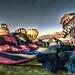 ABQ Balloon Fiesta panorama