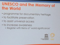 UNESCO and Memory of the World