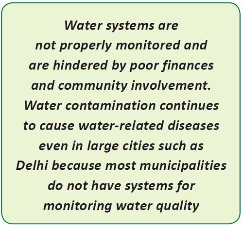 Monitring water quality