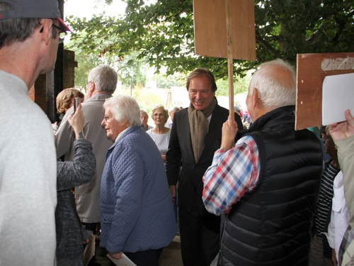 Hugo Swire at Blackmore Health Service, Sidmouth | by Hugoswire