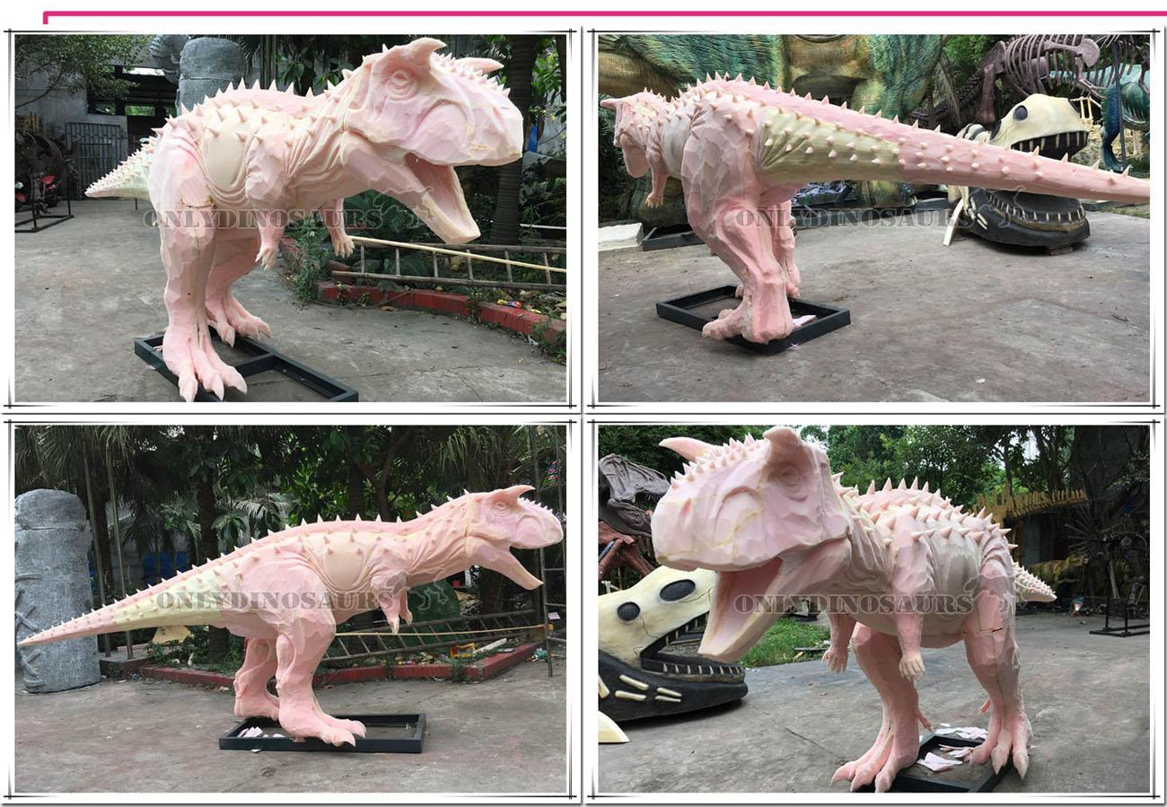 Dinosaur Ride Sculpture Work