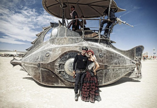 The Nautilus.  Burning Man 2012 | by Christopher.Michel