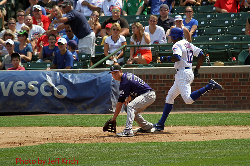 Chicago Cubs - Alfonso Soriano single | by chitownsportspics