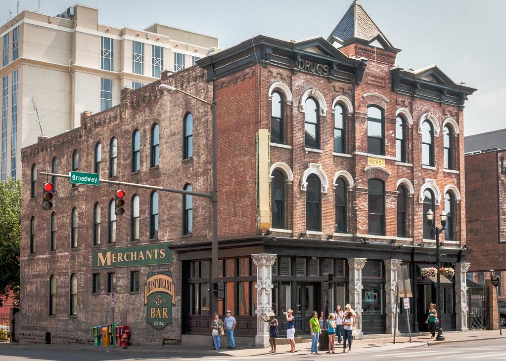 High Quality ... USA Merchants Hotel (1892), 401 Broadway, Downtown, Nashville, TN, USA