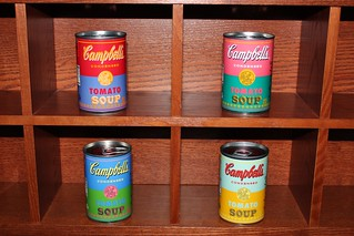 I finally got the Andy Warhol-inspired Campbell's Soup cans.(09/05/2012) | by jamesandtim