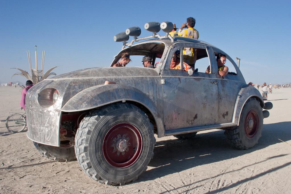 Giant Vw Bug Art Car Burning Man 2012 Tim Varga Flickr