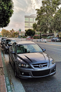 Mazdaspeed 6 In Front of Prizzi's, Burbank | by kevinwgarrett