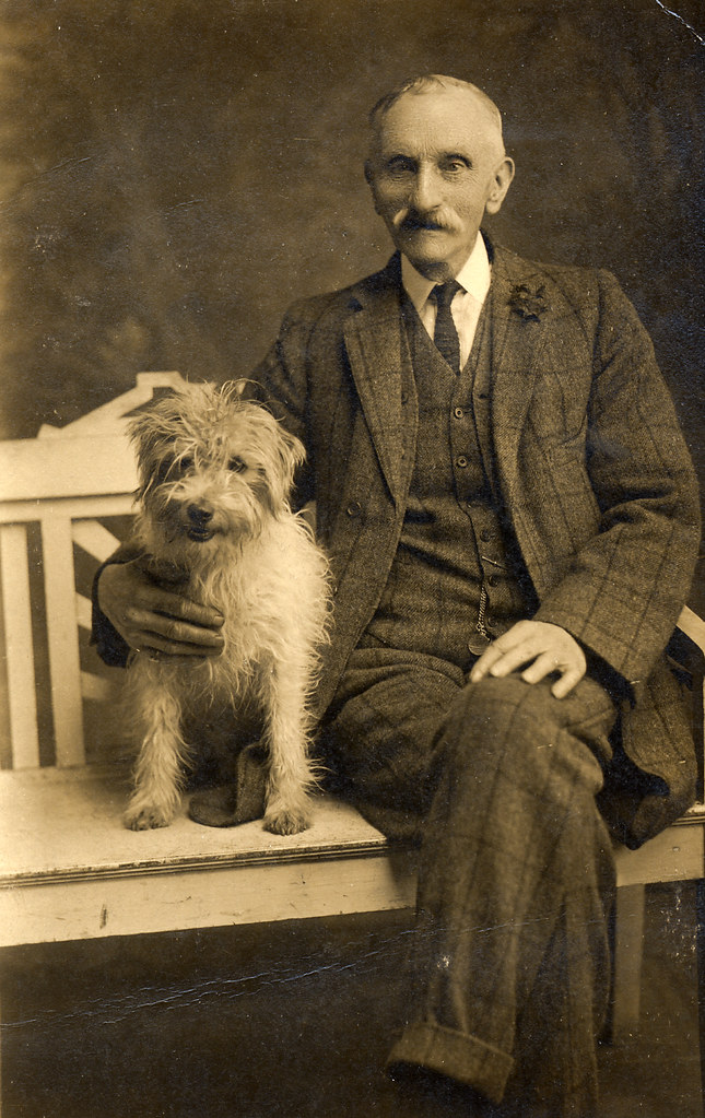uncle william with his dog found image uncle william