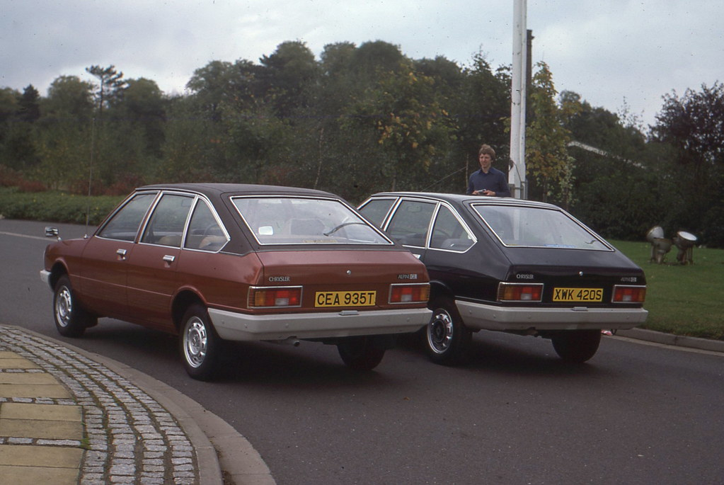 3 Wheel Car >> 1978 Chrysler Alpine GL | This was my first new company ...