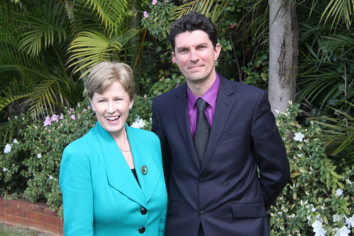 Senators Christine Milne and Scott Ludlam in Perth | by Greens MPs