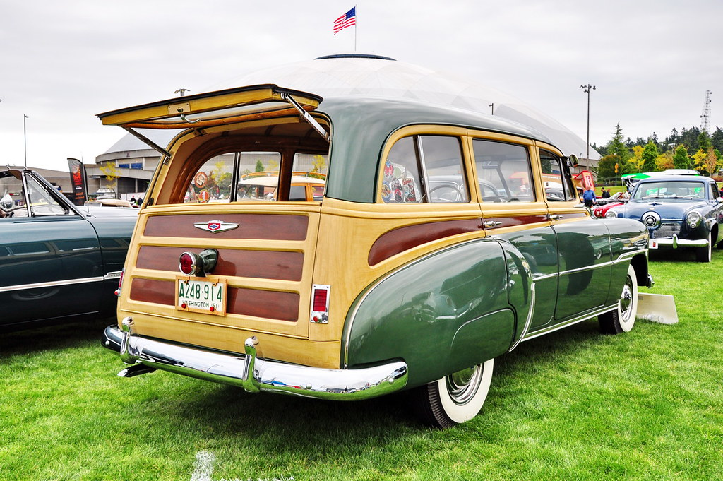 1951 Chevrolet Station Wagon A Classy Quot Tin Woody Quot At The
