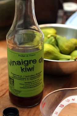 kiwi vinegar | by David Lebovitz