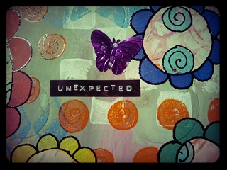 Unexpected in bloom | by Caatje's Artsy Stuff