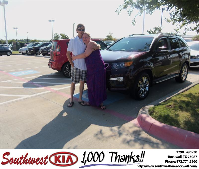 Congratulations To Amber Aumock On The 2013 Kia Sorento