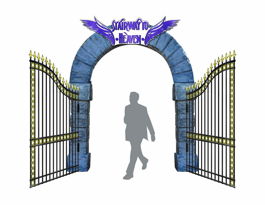 Gates of Heaven Sketch Stairway to Heaven Gate