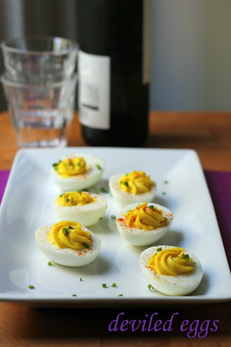 deviled eggs | by awhiskandaspoon