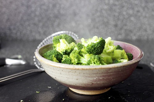 steamed broccoli, college ceramics | by smitten kitchen