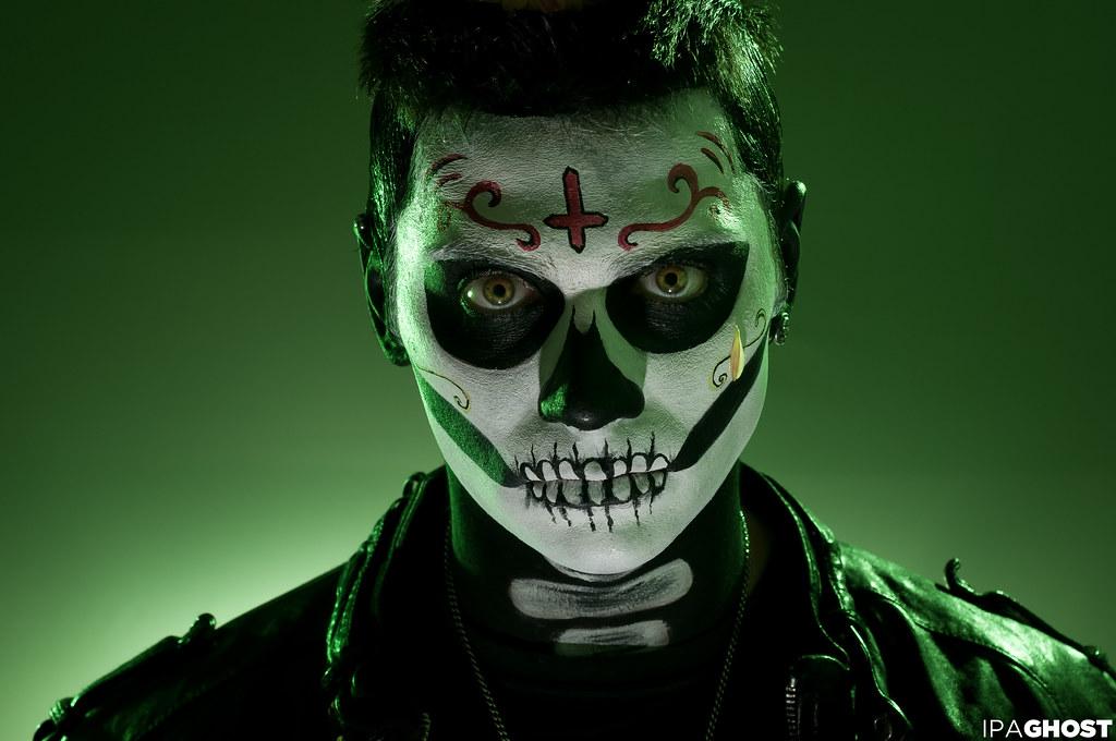 Halloween Advanced Skull Face Paint Tutorial  Snazaroo