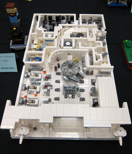 Microscale Hoth Rebel Base | by wiredforlego