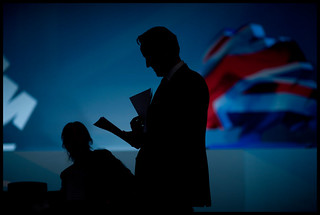 David Cameron rehearsing his speech | by conservativeparty