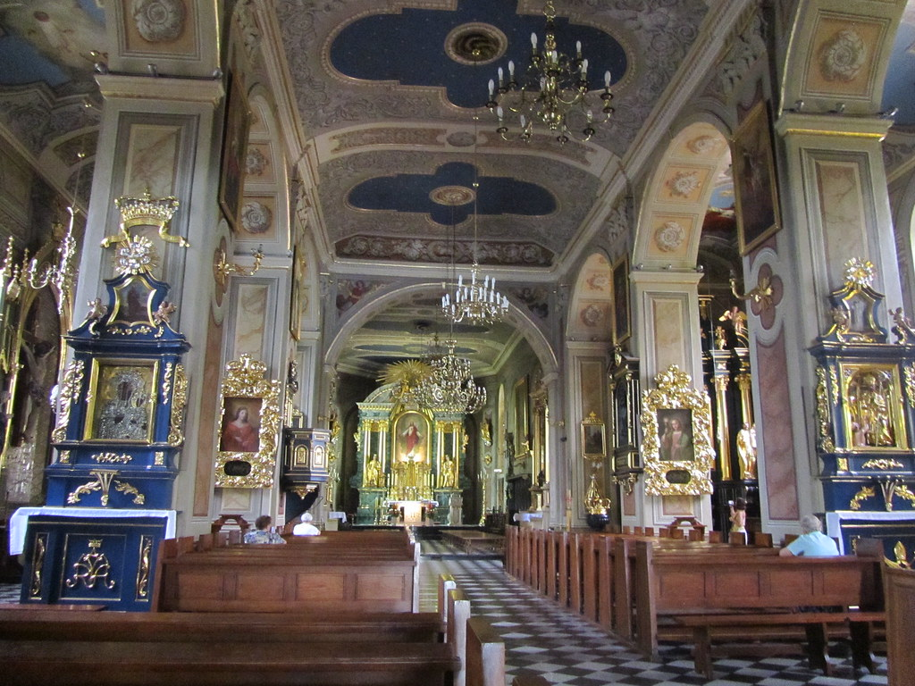 Interior de Iglesia en Wielczka