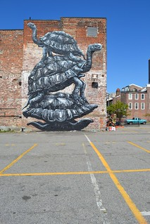RICHMOND (US)-the Richmond Mural project | by ROA !