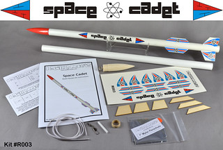 Space Cadet Rocket Kit (Parts) | by Sascha Grant