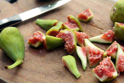 fresh figs for chutney | by David Lebovitz