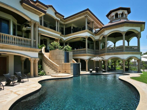 Beachfront mansions in naples florida luxury homes and for Expensive homes in florida