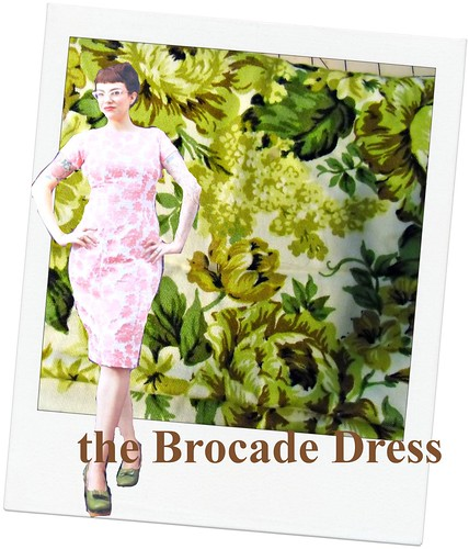Brocade Dress | by lladybird