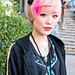 Pink-Blonde Hair in Harajuku