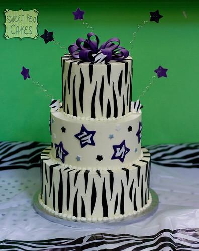 Rock Pool Birthday Cake
