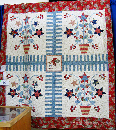TN State Fair quilts - Americana Baskets | by Petit Design Co.