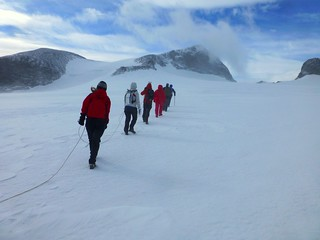 Crossing the Styggebreen glacier to Galdhøpiggen | by Frans.Sellies