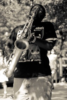 Newbury Street Boston Saxophonist Carl Catron | by C Shore
