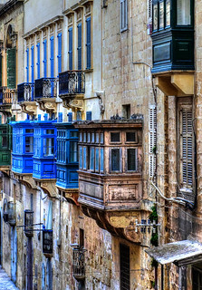 The Balconies Of Valletta | by 1001 Rabbits