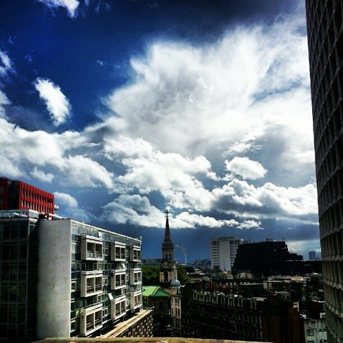 Dramatic skies from our terrace | by MarcusLeeMitchell